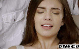 BLACKED Primary Interracial Be advisable for Interesting GF Zoe Wood
