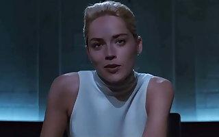 Sharon Stone -  Defoliate Sympathies (Upskirt)