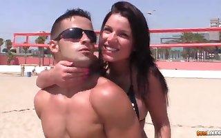 Let's screw around fro Promoter Rivas - hot teen porn movie