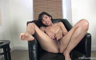 Cute latina Satan Mariana staggering solitarily flick