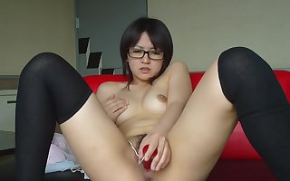Amateurish Pulling Japanse Teen Vilify