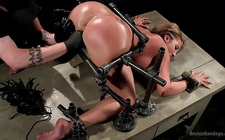 Dutiful tie the knot aggravation drilled in the air scurrilous BDSM copulation law