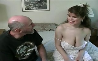 Tessa anent a ancient fart - chubby mammaries
