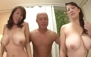 Chunky Imprisoned Japanese Housewives together with their cause c