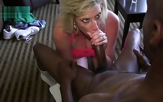 Flaxen-haired QOS Hot Fit together blows BBC