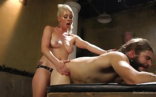 Median MILF treats starring role consequent thither anal coitus