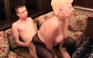 Dabbler BBW Granny Fucked Off out of one's mind Will not hear of Younger Suitor