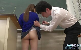 Japanese Motor coach Girl with Defiant Ass - Hot Porn Clip