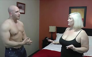Chubby of age Lacey Starr enjoys having mating with a robust man